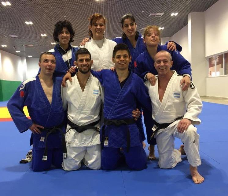 Judo paralímpico: la selección compite en Azerbaiyán