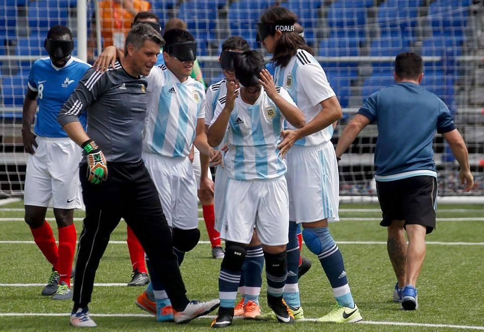 Fútbol para ciegos: fixture de la Copa Tango