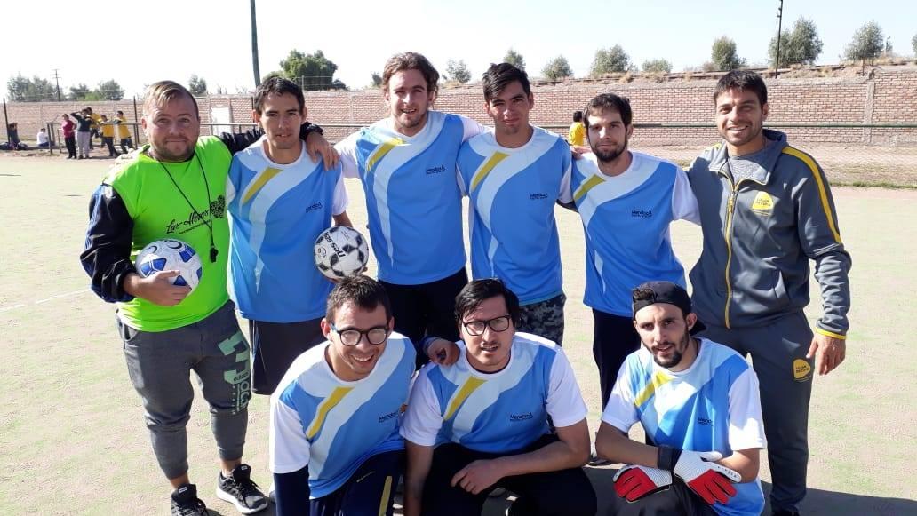 Fútbol 7: Actividades en todo el país