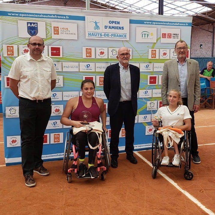 Tenis adaptado: ¡Nicole Dhers, campeona en Francia!