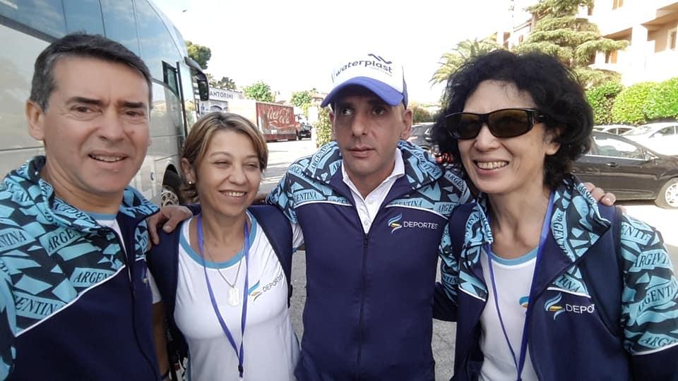 Tenis para ciegos: tres triunfos argentinos en el arranque del Mundial