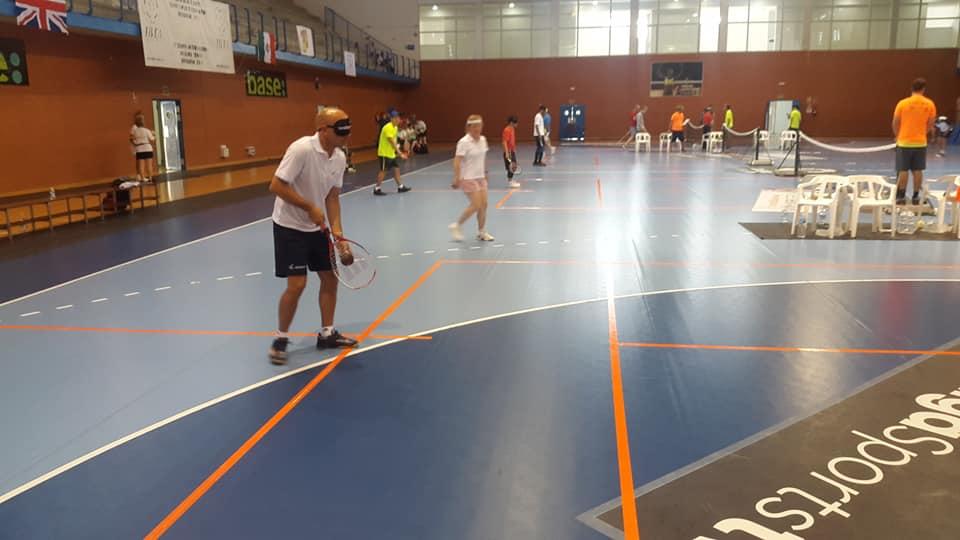 Tenis para ciegos: dos argentinos, entre los ocho mejores del Mundial