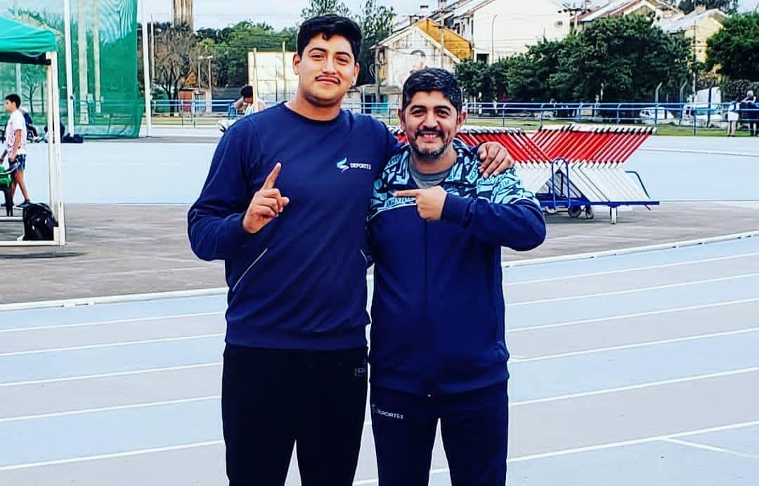 Atletismo: Hernán Urra hizo un nuevo récord americano en el Open Chaco