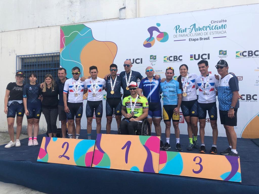 Paraciclismo: tres campeones argentinos en el Circuito Panamericano