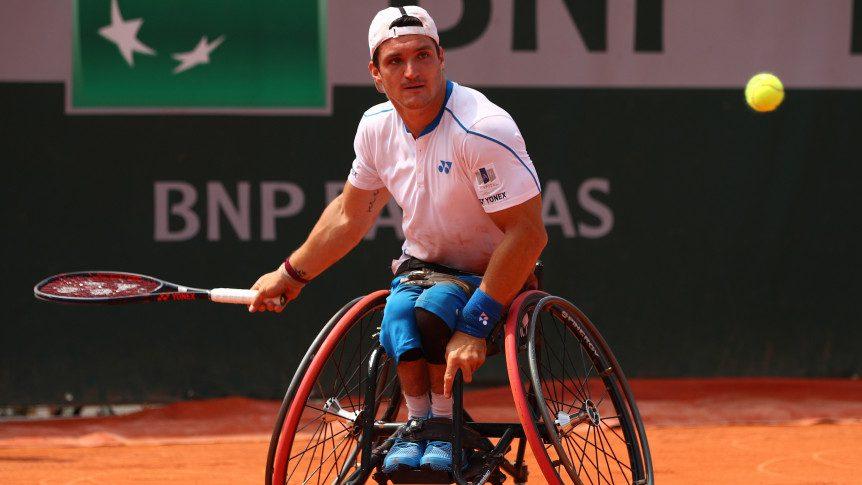 Tenis adaptado: duro debut para Gustavo Fernández en Roland Garros
