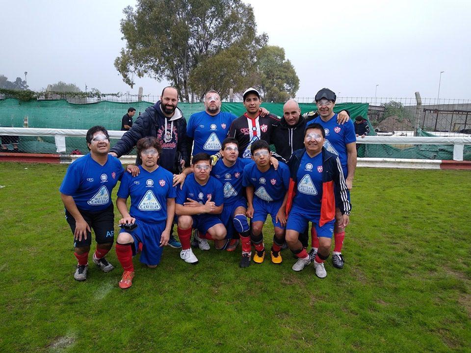Fútbol para ciegos: Fundación Paradeportes – Cañuelas FC, a la Zona Campeonato