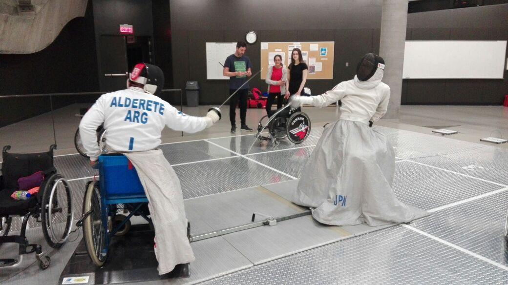 Esgrima paralímpica: Alderete viaja a Polonia en busca de su lugar en Tokio