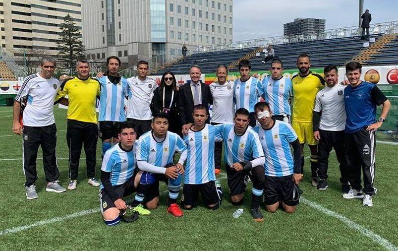 Fútbol para ciegos: Los Murciélagos se preparan para Lima