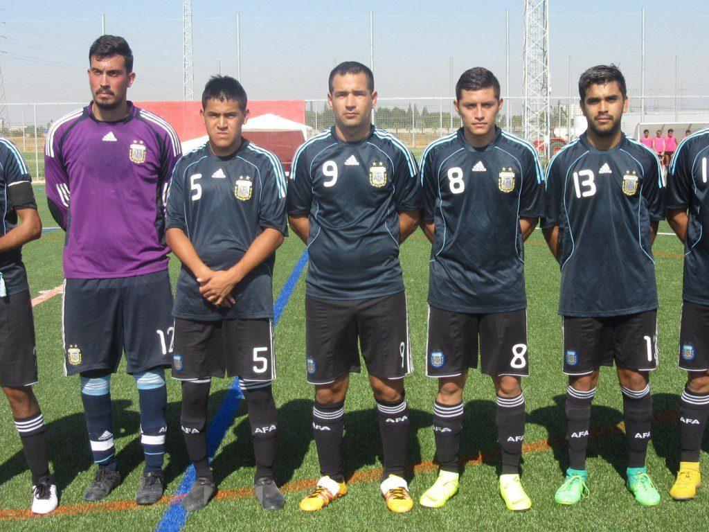 Fútbol 7: Argentina finalizó en el séptimo puesto en el Mundial de Sevilla