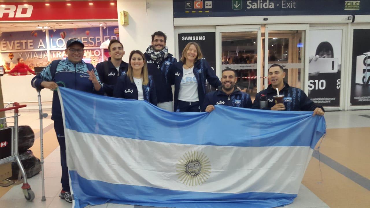 Paracanotaje: la seleccióm compite en San Pablo