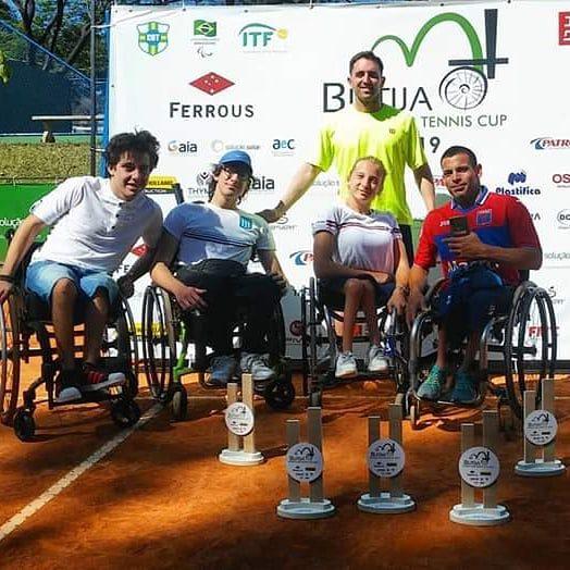 Tenis adaptado: Casco y Dhers, campeones en Brasil