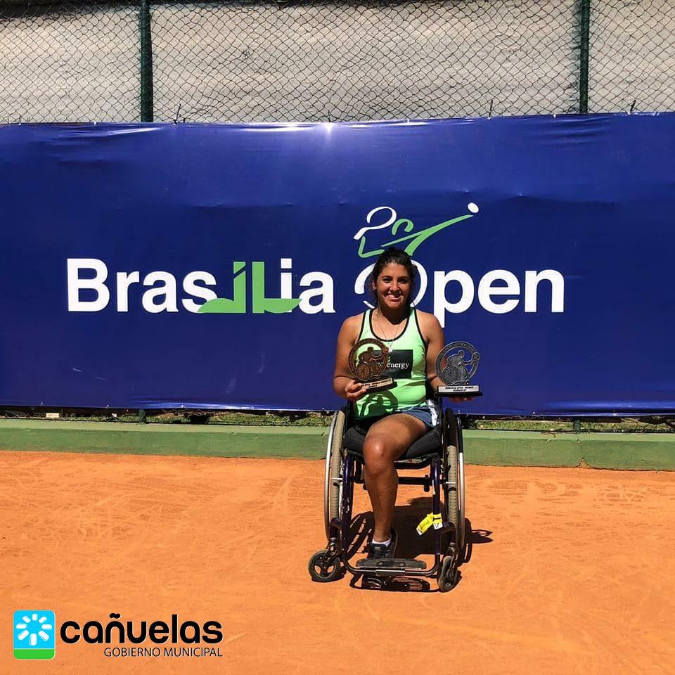 Tenis adaptado: Moreno, Ledesma y Casco cerraron la gira con títulos en Brasil