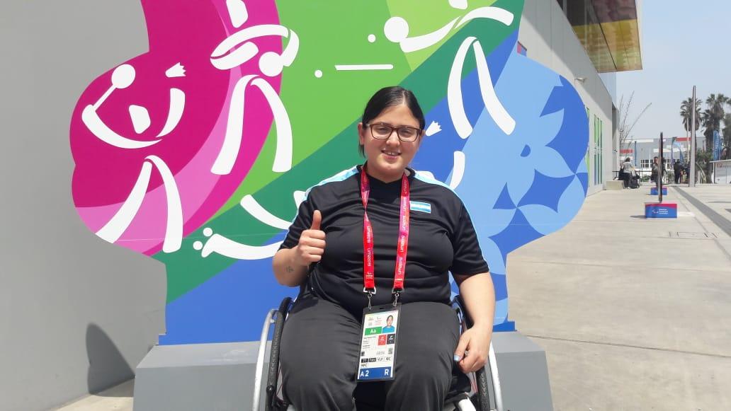 Lima 2019, día 2: Nayla Kuell, primera medalla argentina en los Juegos Parapanamericanos