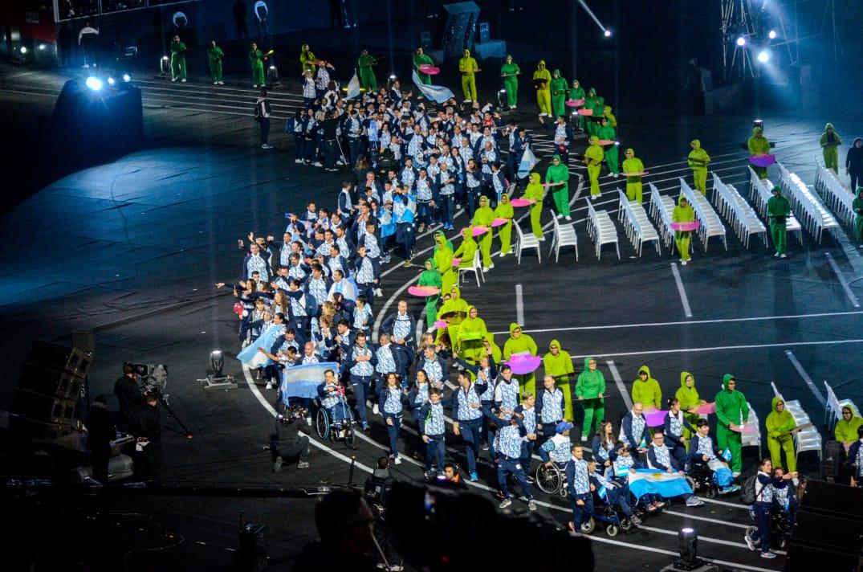 Comenzaron oficialmente los Juegos Parapanamericanos con su ceremonia inaugural en el Estadio Nacional