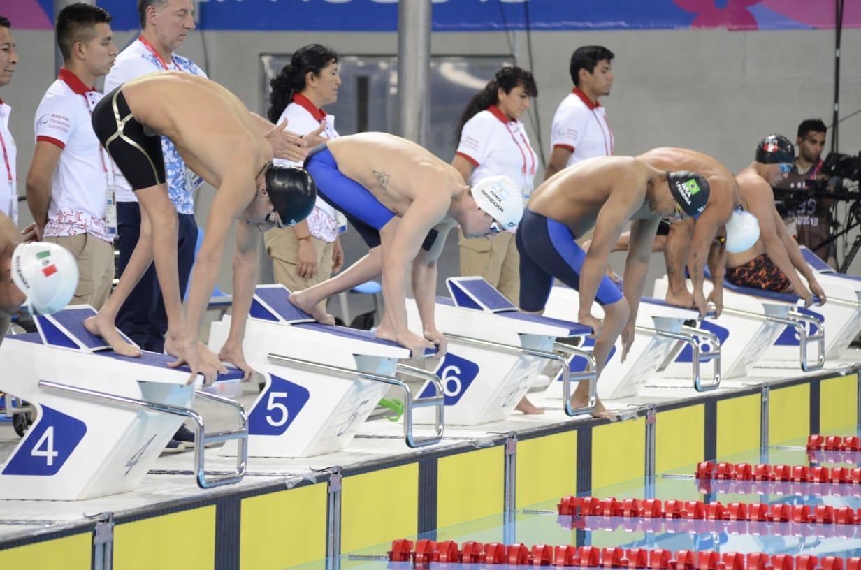 Lima 2019. Día 4: dos medallas doradas y récords Parapanamericanos en el Centro Acuático