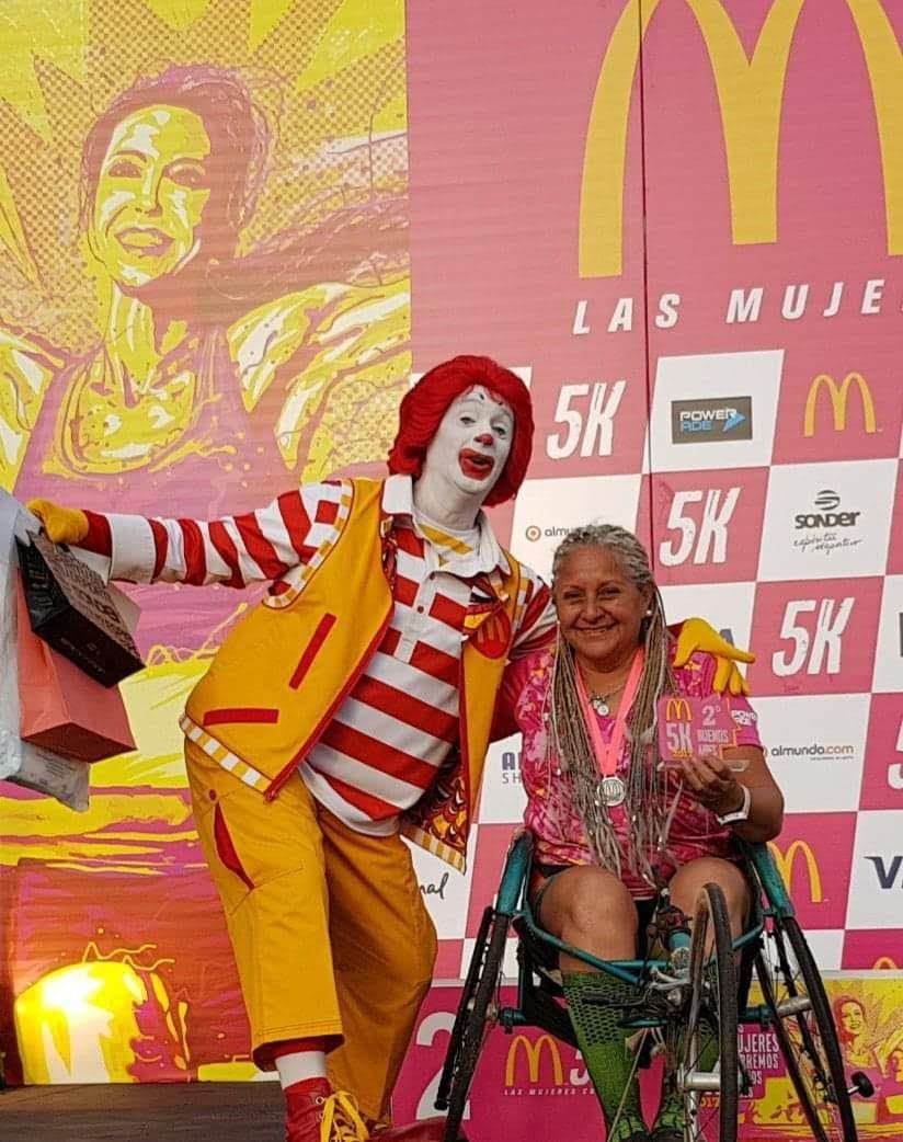 """La atleta Norma Ramos participará de los #M5K de Mc Donald's: """"Correr me salvó la vida"""""""
