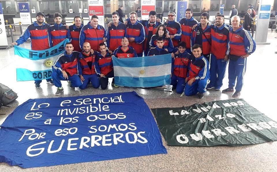 Fútbol para ciegos: Los Guerreros de Córdoba, semifinalistas