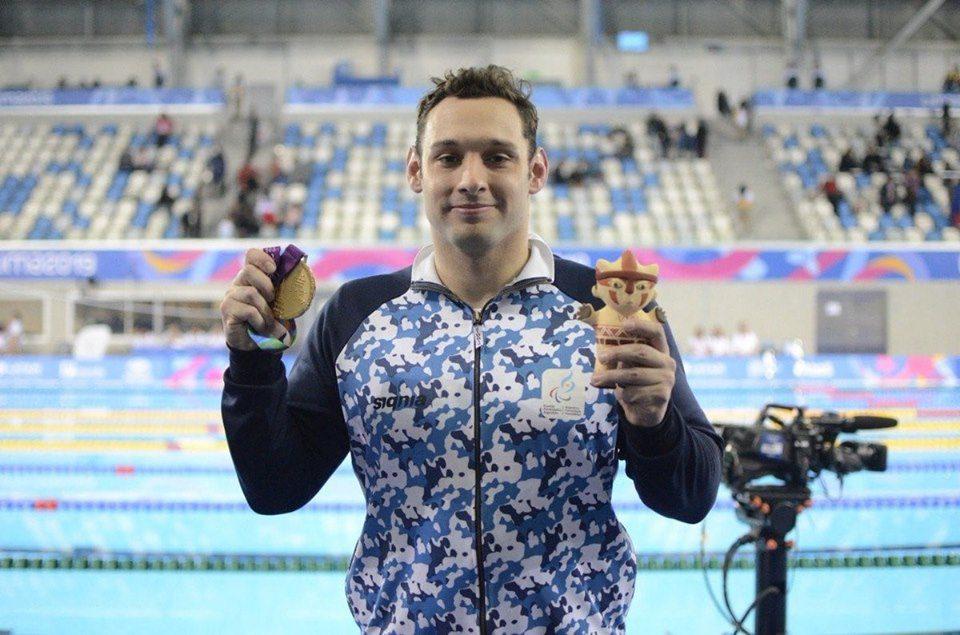 Natación: ¡Fernando Carlomagno, medalla de bronce en el Mundial de Londres!