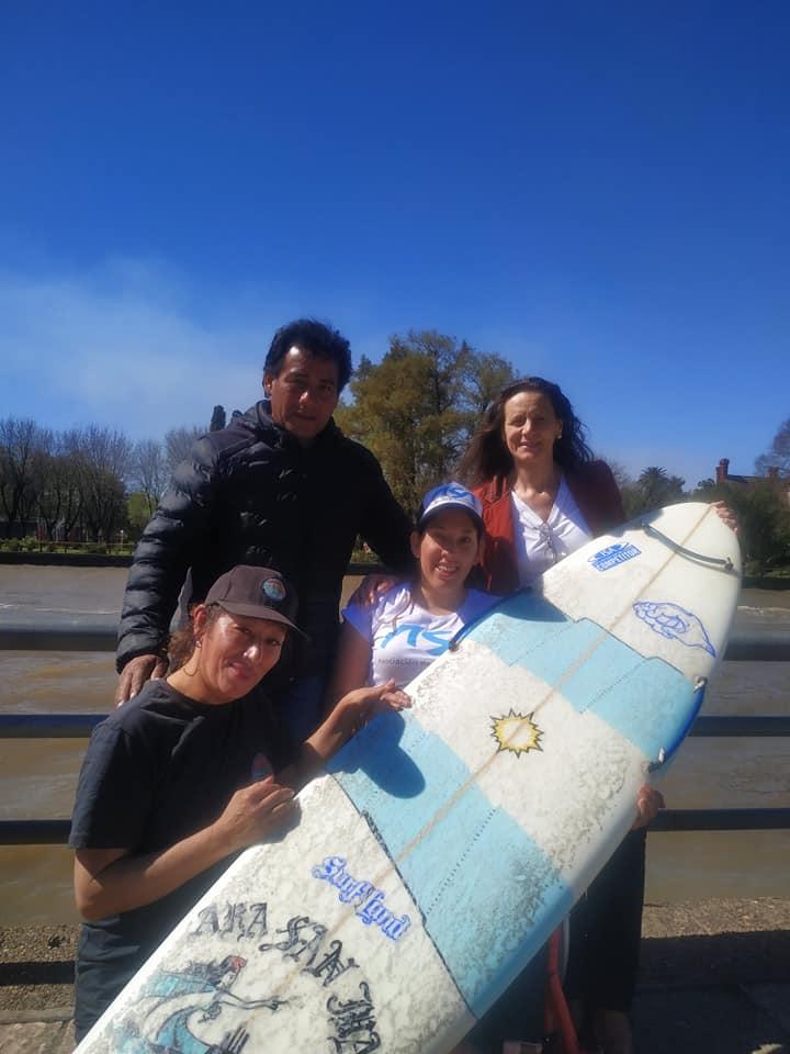 El surf adaptado, una ola imparable