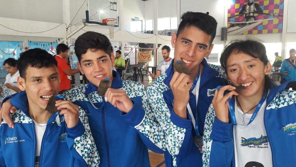 Paravóley: Chaco, campéon de los Juegos Nacionales Evita