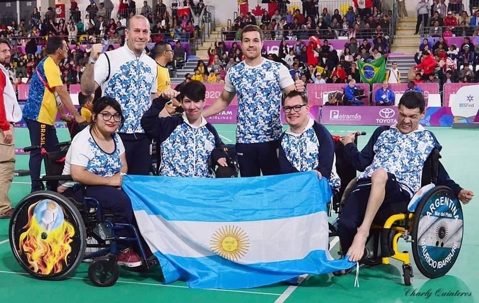 El equipo argentino de boccia, elegido el Mejor de Lima 2019