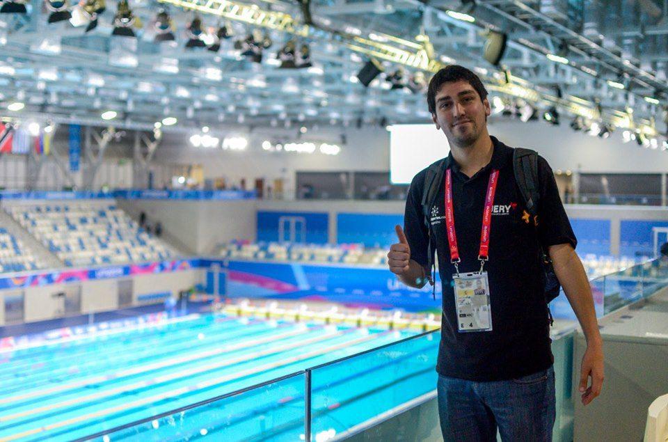 El periodista de Paradeportes Nicolás Carrizo, candidato a los Premios Estímulo de Tea y Deportea