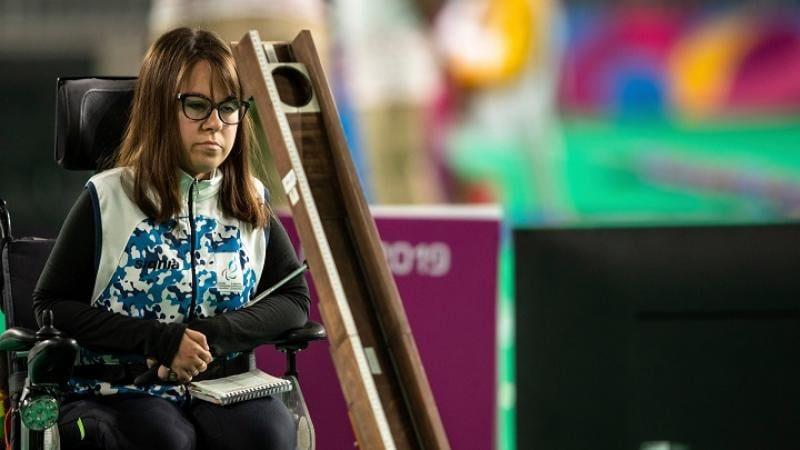 Boccia: Stefanía Ferrando, candidata a la mejor atleta del mes de septiembre