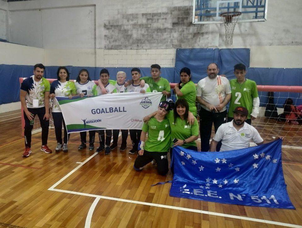 Goalball: Buenos Aires, campeón de los Juegos Nacionales Evita