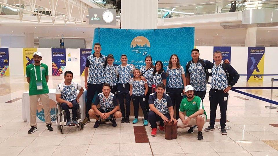 Atletismo adaptado: Argentina ya se instaló en Emiratos Árabes