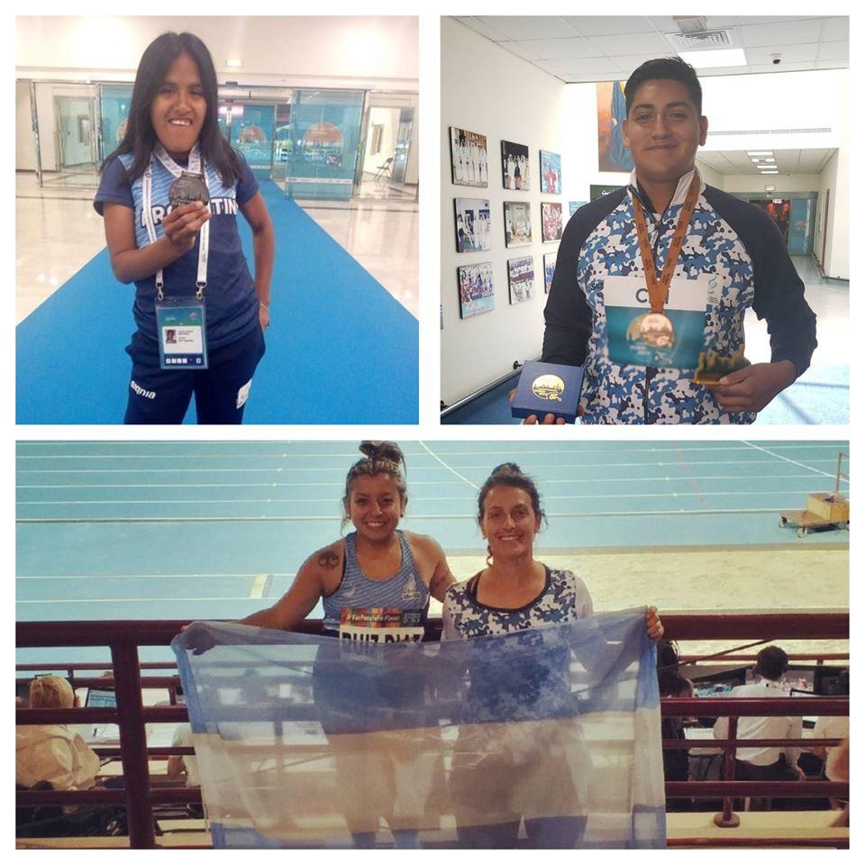 Argentina logró cuatro medallas en el Mundial de atletismo paralímpico de Dubai