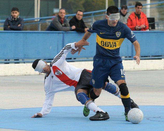 Fútbol para ciegos: se viene River-Boca