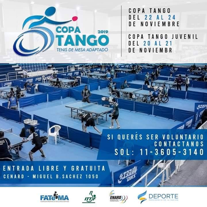Tenis de mesa adaptado: se viene la Copa Tango