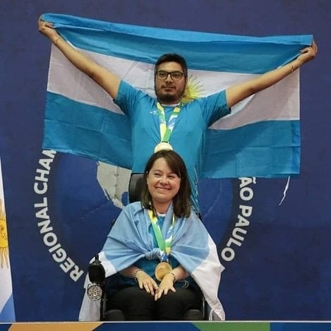 Boccia: último día para votar a Stefanía Ferrando, candidata a mejor atleta del mes de septiembre