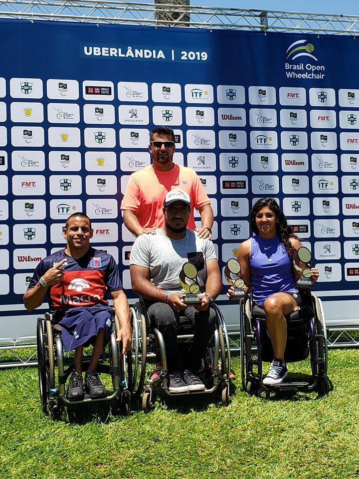 Tenis adaptado: Moreno y Ledesma, campeones en Brasil