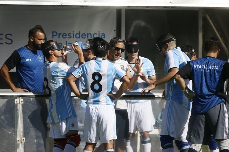 Fútbol para ciegos: Murciélagos A y Murciélagos B ganaron y definen la Copa Tango