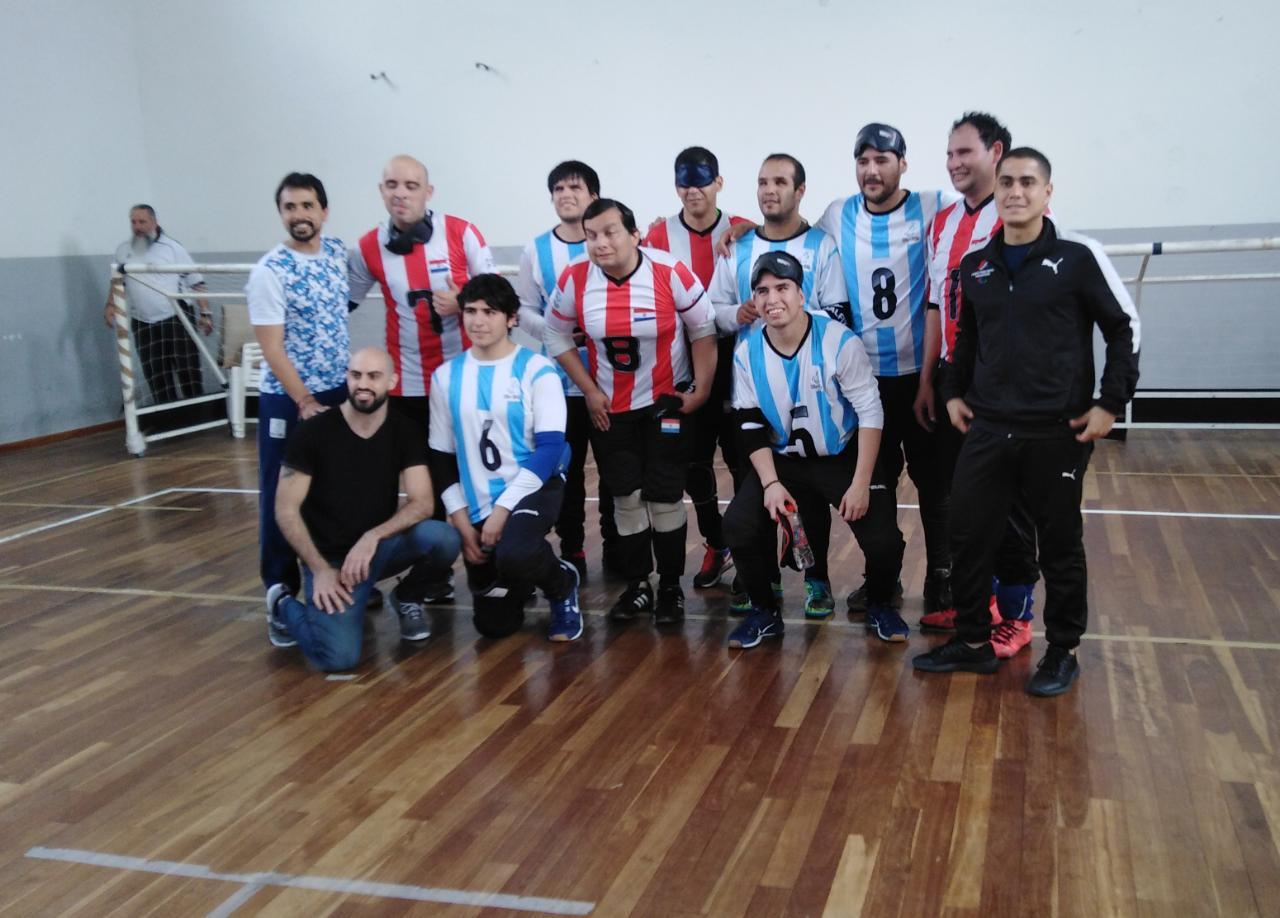 Goalball: Los Topos derrotaron a Paraguay