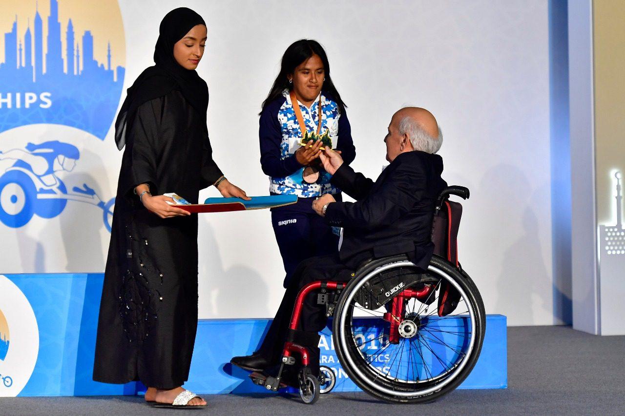 Histórico: ¡Yanina Martínez, medalla plateada en los 100 metros del Mundial de Dubai!
