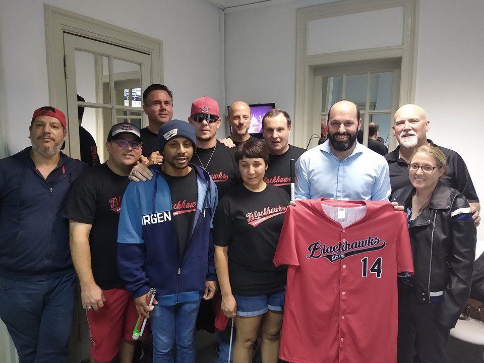 Clínica y exhibición de béisbol para ciegos, este viernes y sábado en el Instituto Román Rosell