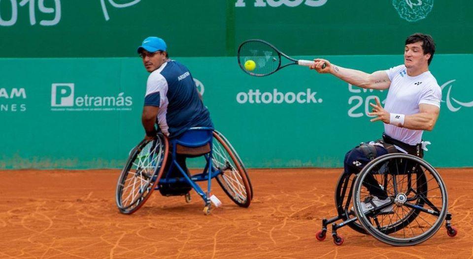 Tenis adaptado: duro inicio en el dobles del Masters
