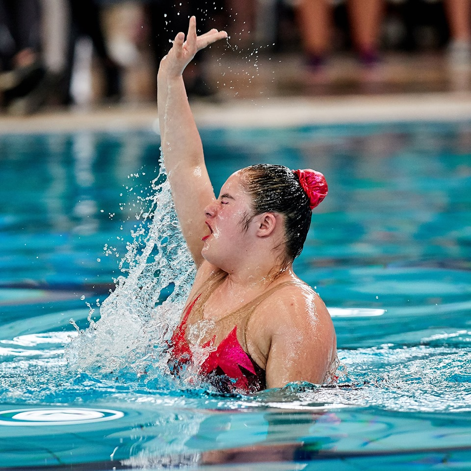 Las atletas con Síndrome de Down le pusieron brillo al Argentina Open de nado sincronizado