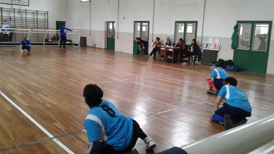 Goalball: Apanovi y Rosell se quedaron con el Metropolitano