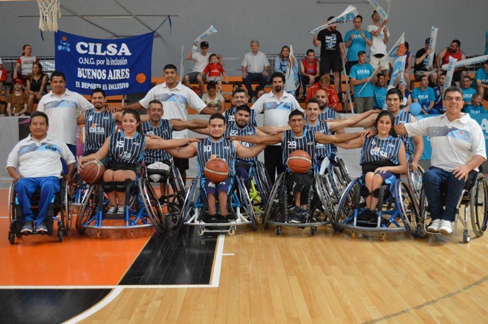 El uno x uno de Cillsa de Buenos Aires, el bicampeón del básquet adaptado