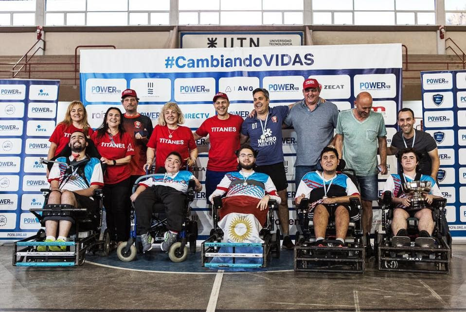 Powerchair football: se viene la Copa Argentina