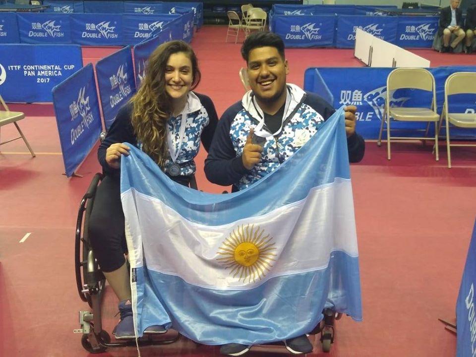 Tenis de mesa adaptado: cuatro medallas argentinas en Costa Rica