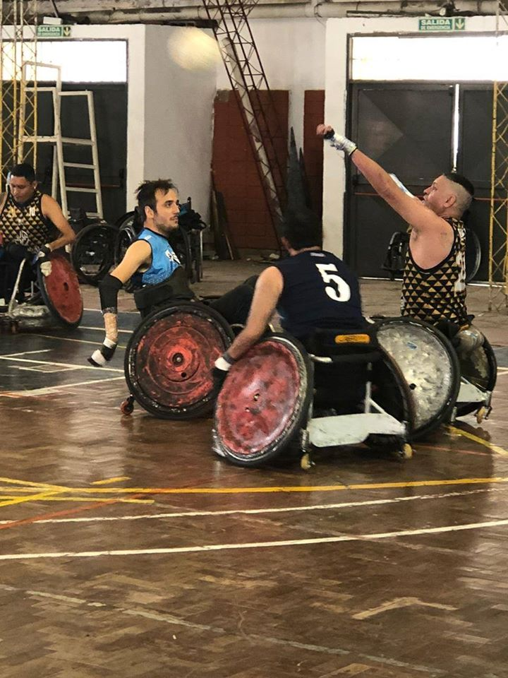 Quad rugby: Charanchos festejó en Córdoba