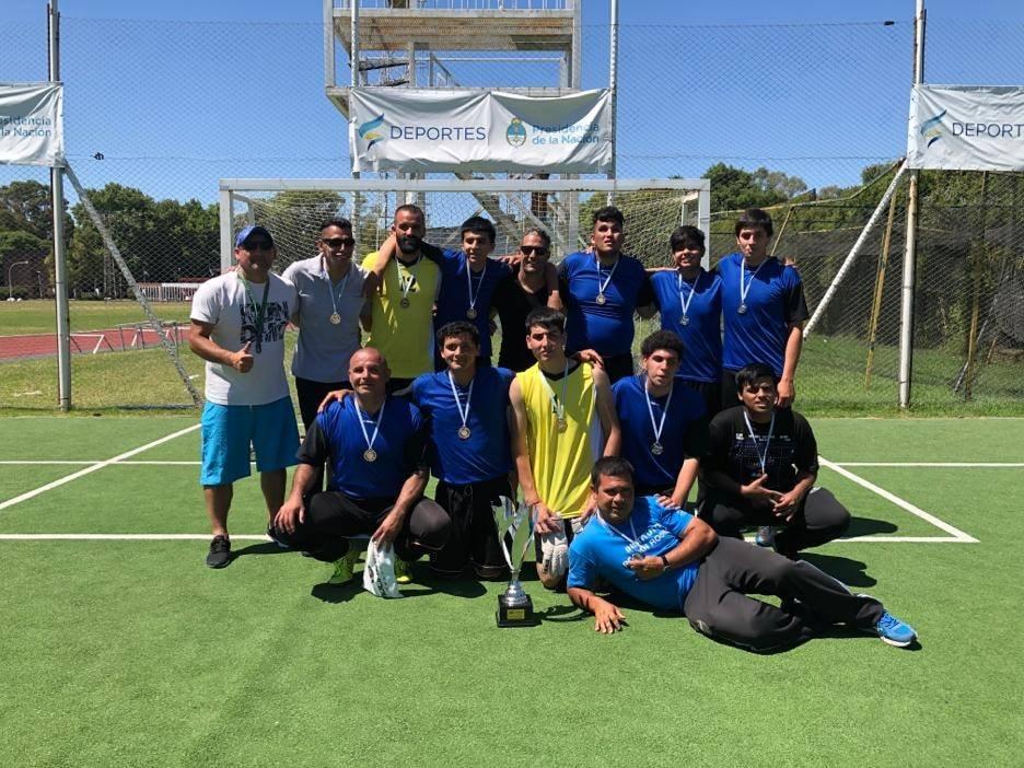 Fútbol para ciegos: Román Rosell de San Isidro, campeón de la Liga Nacional