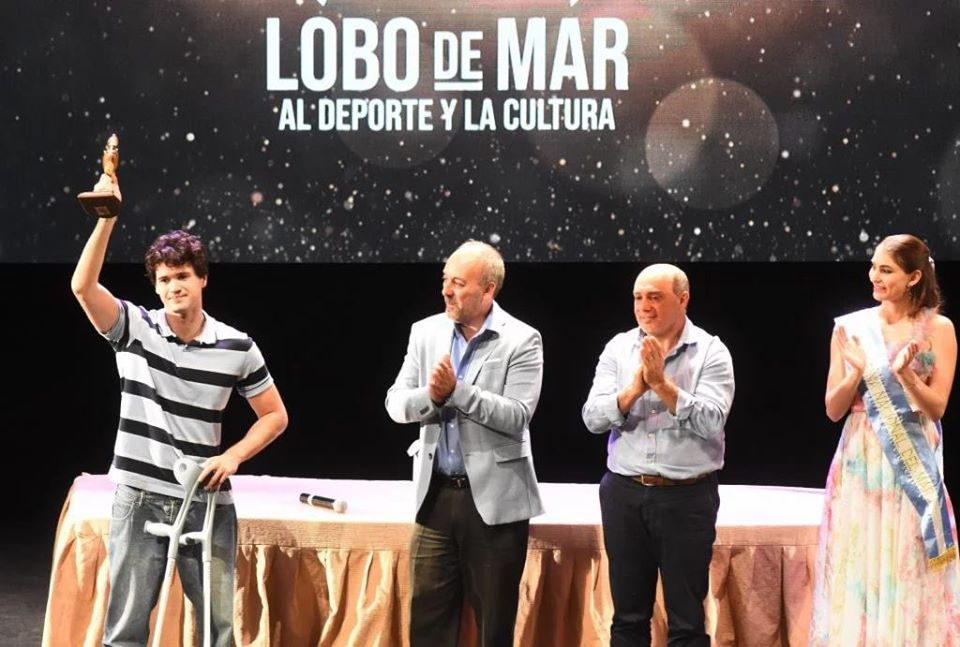 Natación: De Andrade ganó el Lobo de Mar de Oro