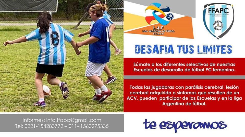 Fútbol 7: el fútbol femenino y sus escuelas de desarrollo
