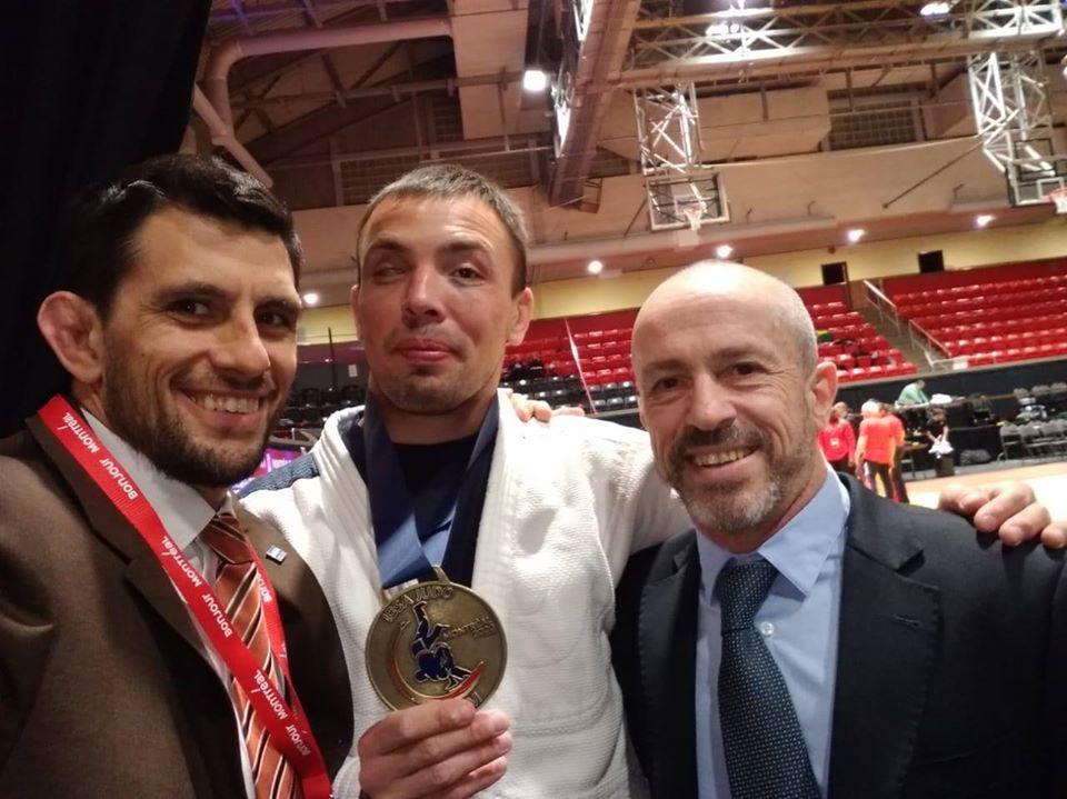 Judo para ciegos: tras el título, Gauto quedó a un paso de Tokio 2020