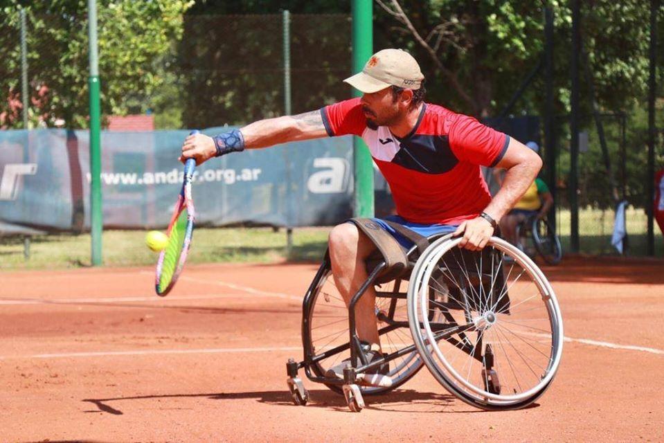 Tenis adaptado: en Buenos Aires, se juega la clasificación a la Copa del Mundo